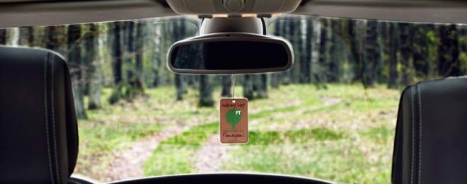 Wspierajcie powstawanie nowych lasów – zawieszki do samochodu